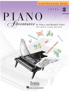 Level 3B: Sightreading Book - Piano Adventures® Books | Piano