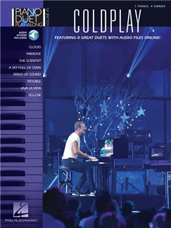 Piano Duet Play-Along Volume 46: Coldplay (Book/Online Audio) Audio Digitale et Livre | Piano Duo