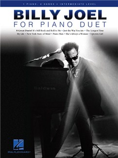 Billy Joel For Piano Duet Books | Piano
