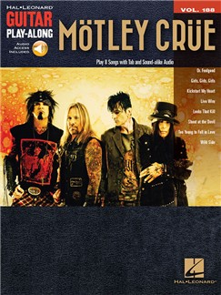 Guitar Play-Along Volume 188: Mötley Crüe Books and Digital Audio | Guitar Tab