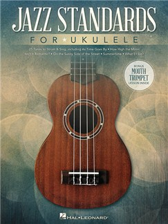 Jazz Standards For Ukulele Livre | Ukelele