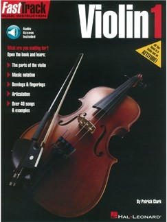 FastTrack Violin Method: Book 1 (Book/Online Audio) Audio Digitale et Livre | Violon
