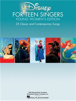 Disney For Teen Singers – Young Women's Edition Books | Voice, Piano Accompaniment