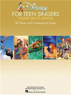 Disney For Teen Singers – Young Men's Edition Books | Voice, Piano Accompaniment