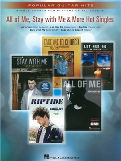 Popular Guitar Hits: All Of Me, Stay With Me & More Hot Singles Books | Guitar, Lyrics & Chords