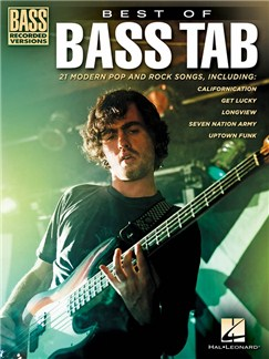 Best Of Bass Tab - Bass Recorded Versions Books | Bass Guitar Tab