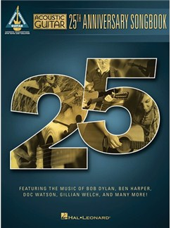Acoustic Guitar: 25th Anniversary Songbook - Guitar Recorded Versions Books | Guitar