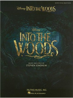 Into The Woods: Vocal Selections From The Disney Movie Livre | Chant et Piano