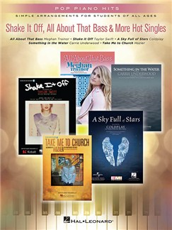 Pop Piano Hits: Shake It Off, All About That Bass & More Hot Singles Books | Piano