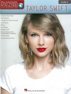 Easy Piano Play-Along Volume 19: Taylor Swift (Book/Online Audio) Books and Digital Audio | Easy Piano