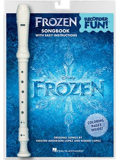 Frozen: Recorder Fun! Books and Instruments | Recorder