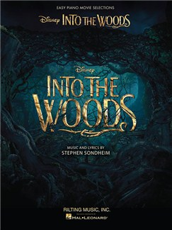 Into The Woods: Easy Piano Selections From The Disney Movie Books | Piano