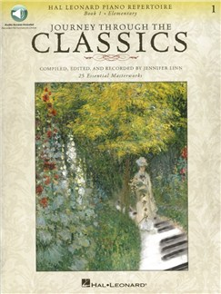 Journey Through The Classics: Book 1 - Elementary (Book/Online Audio) Books and Digital Audio | Piano