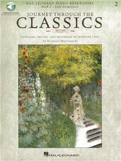 Journey Through The Classics: Book 2 (Book/Online Audio) Books and Digital Audio | Piano