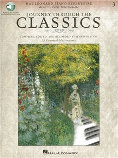 Journey Through The Classics: Book 3 (Book/Online Audio) Books and Digital Audio | Piano