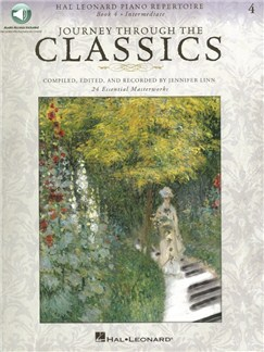 Journey Through The Classics: Book 4 (Book/Online Audio) Books and Digital Audio | Piano
