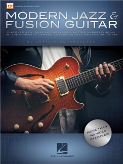 Jostein Gulbrandsen: Modern Jazz & Fusion Guitar (Book/Online Audio) Books and Digital Audio | Guitar