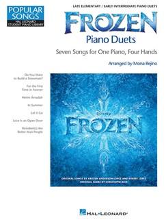 Frozen Piano Duets Books | Piano Duet
