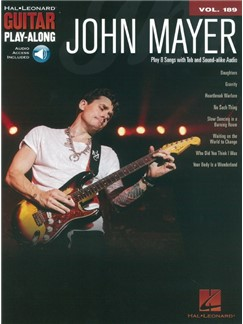 Guitar Play-Along Volume 189: John Mayer (Book/Online Audio) Books and Digital Audio | Guitar Tab, Guitar