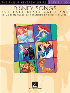 Disney Songs For Easy Classical Piano - Phillip Keveren Series Books | Piano