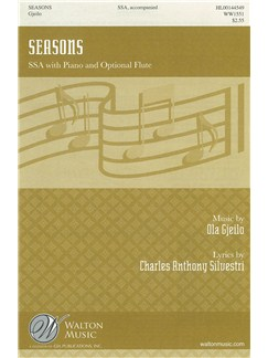 Ola Gjeilo: Seasons (SSA) Books | SSA, Piano Accompaniment