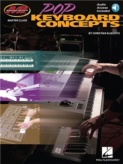 Christian Klikovits: Pop Keyboard Concepts (Book/Online Audio) Books and Digital Audio | Keyboard