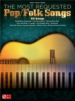 The Most Requested Pop/Folk Songs (PVG) Books | Piano, Vocal & Guitar