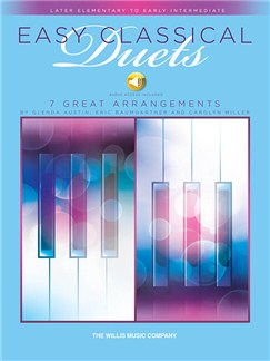 Easy Classical Duets (Book/Online Audio) Books and Digital Audio | Piano Duet