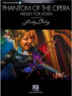 Phantom Of The Opera: Lindsey Stirling Medley (Violin With Original Audio Backing Tracks) Books and Digital Audio | Violin