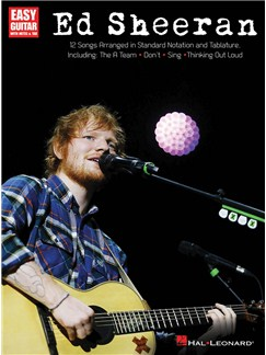 Ed Sheeran For Easy Guitar Books | Easy Guitar