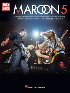 Maroon 5: Easy Guitar With Notes & Tab Books | Guitar