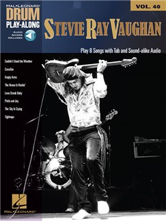 Drum Play-Along Volume 40: Stevie Ray Vaughan (Book/Online Audio) Books and Digital Audio | Drums