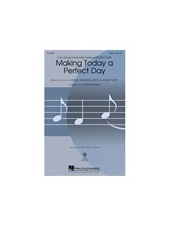 Making Today A Perfect Day (From Frozen Fever) - SAB Books | SAB, Piano Accompaniment
