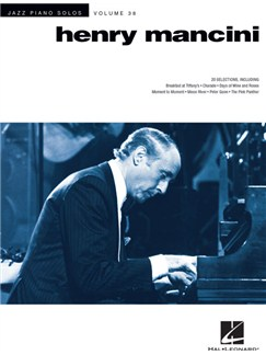 Jazz Piano Solos Series Volume 38: Henry Mancini Livre | Piano