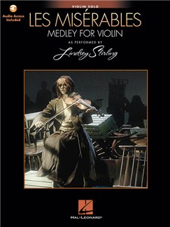 Les Misérables: Medley For Violin Solo - As Performed By Lindsey Sterling (Book/Online Audio) Books and Digital Audio | Violin