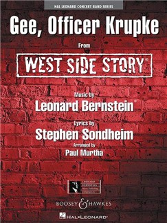 Leonard Bernstein: Gee, Officer Krupke - From West Side Story Books | Big Band & Concert Band