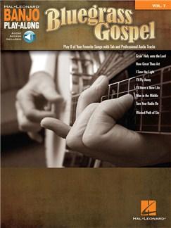 Banjo Play-Along Volume 7: Bluegrass Gospel (Book/Online Audio) Books and Digital Audio | Banjo