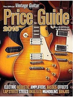 The Official Vintage Guitar Magazine Price Guide 2016 Books |