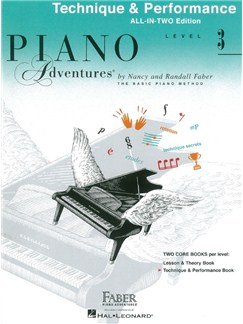 Piano Adventures: Level 3 - Technique & Performance Books | Piano