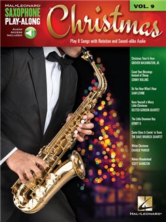 Saxophone Play-Along Volume 9: Christmas (Book/Online Audio) Books and Digital Audio | Saxophone
