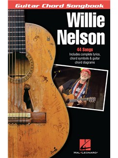 Willie Nelson: Guitar Chord Songbook Books | Lyrics & Chords