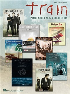 Train: Piano Sheet Music Collection Books | Piano, Vocal & Guitar