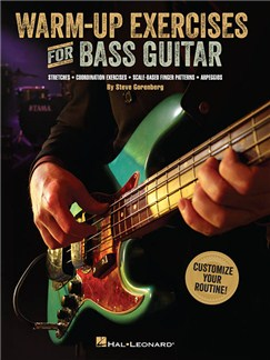 Warm-Up Exercises For Bass Guitar Books | Bass Guitar