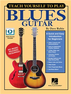 Teach Yourself To Play Blues Guitar (Book/Online Media) Buch und Digitale Audio | Gitarre