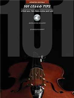 Angela Schmidt: 101 Cello Tips - 2015 Edition (Book/Online Audio) Books and Digital Audio | Cello