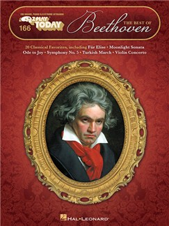 E-Z Play Today 166: The Best Of Beethoven Books | Piano