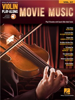 Violin Play-Along Volume 57: Movie Music (Book/Online Audio) Books and Digital Audio | Violin