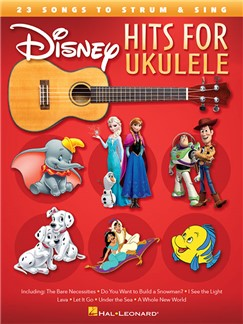 Disney Hits For Ukulele Books | Ukulele