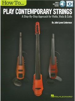 How To Play Contemporary Strings (Book/Online Video) Books and Digital Audio | Violin, Viola, Cello