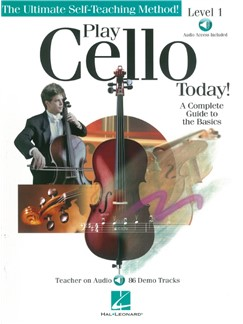 Katy Tompkins: Play Cello Today! (Book/Online Audio) Audio Digitale et Livre | Violoncelle